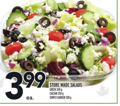 Store Made Salads