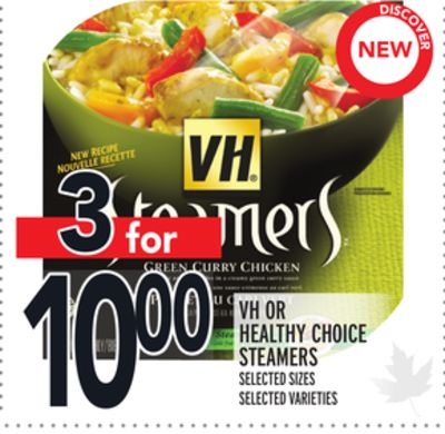 VH Or Healthy Choice Steamers