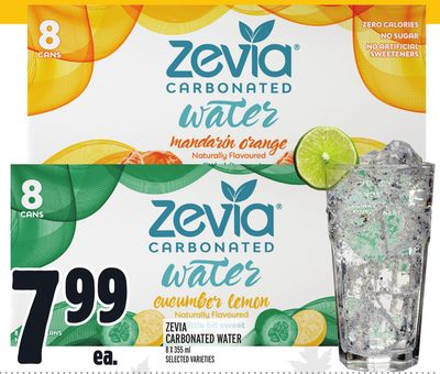 Zevia Carbonated Water