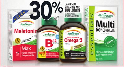Jamieson Vitamins And Supplements