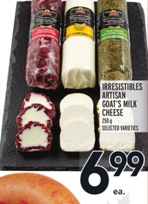 Irresistibles Artisan Goat's M Cheese