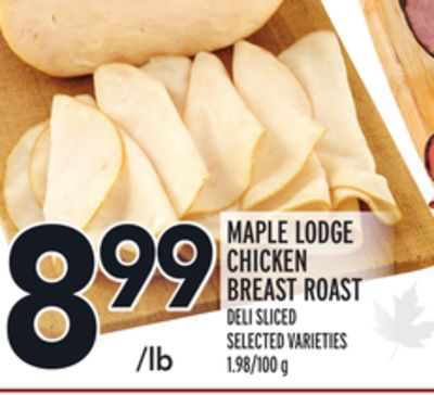 Maple Lodge Chicken Breast Roast