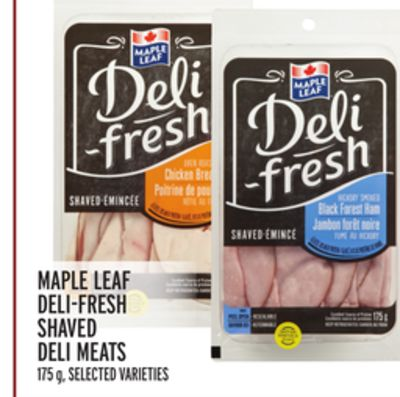 Maple Leaf Deli-fresh Shaved Deli Meats