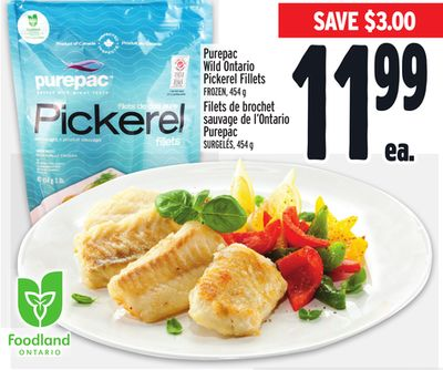 Purepac Wild Ontario Pickerel Fillets