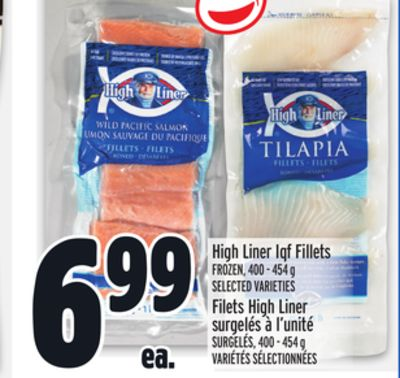 High Liner Iqf Fillets