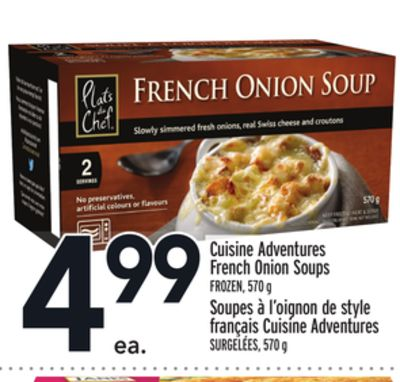 Cuisine Adventures French Onion Soups