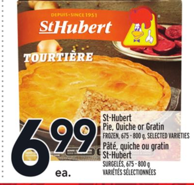 St-hubert Pie - Quiche or Gratin