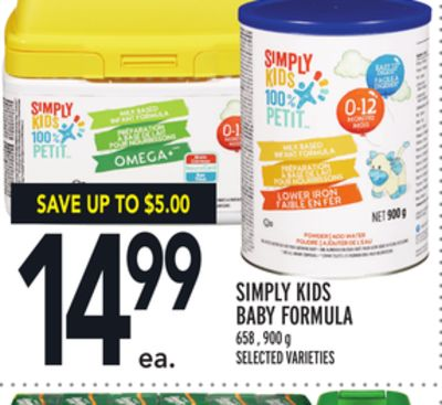 Simply Kids Baby Formula