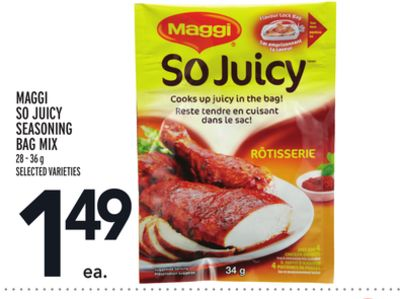 Maggi So Juicy Seasoning Bag Mix