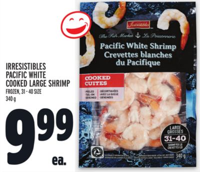 Irresistibles Pacific White Cooked Large Shrimp