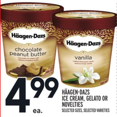 Häagen-dazs Ice Cream - Gelato Or Novelties