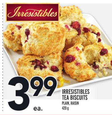 Irresistibles Tea Biscuits
