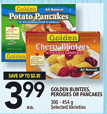 Golden Blintzes - Perogies Or Pancakes