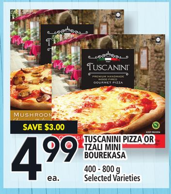 Tuscanini Pizza Or Tzali Mini Bourekasa