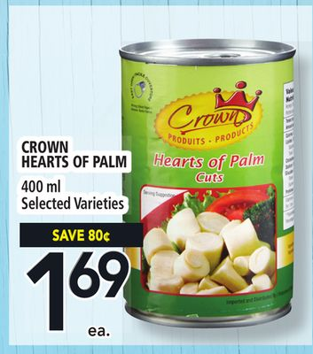 Crown Hearts Of Palm