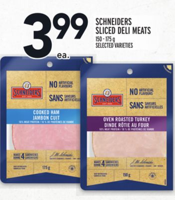 Schneiders Sliced Deli Meats