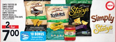 Simply Tostitos Or Simply Doritos Tortilla Chips