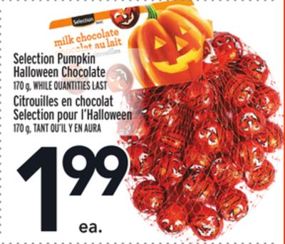 Selection Pumpkin Halloween Chocolate