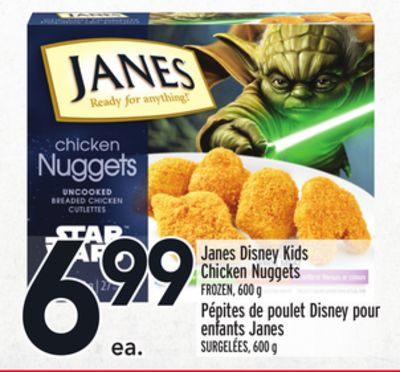 Janes Disney Kids Chicken Nuggets