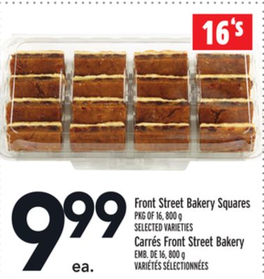 Front Street Bakery Squares