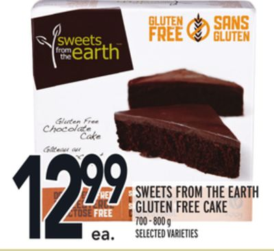 Sweets From The Earth Gluten Free Cake