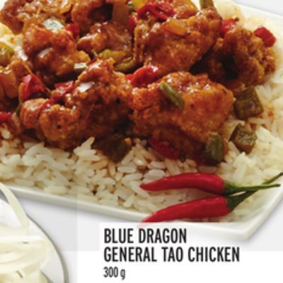 Blue Dragon General Tao Chicken