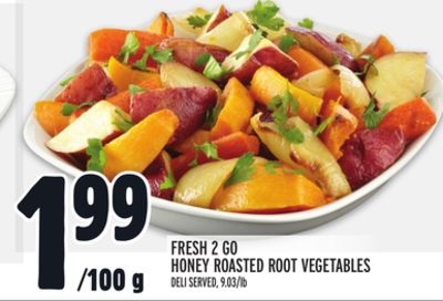 Fresh 2 Go Honey Roasted Root Vegetables