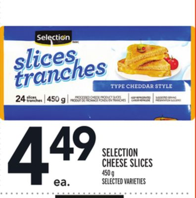 Selection Cheese Slices