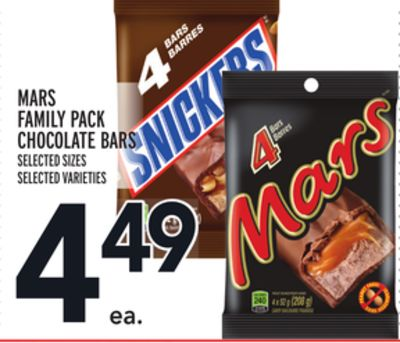 Mars Family Pack Chocolate Bars