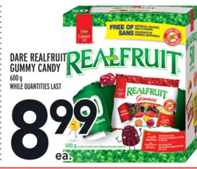 1 Dare Realfruit Gummy Candy