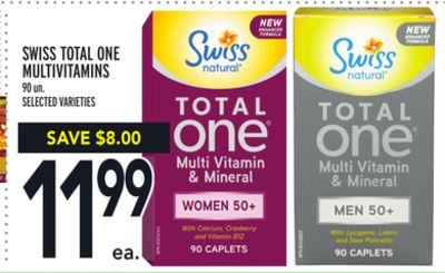 Swiss Total One Multivitamins