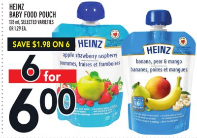 Heinz Baby Food Pouch