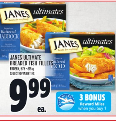 Janes Ultimate Breaded Fish Fillets