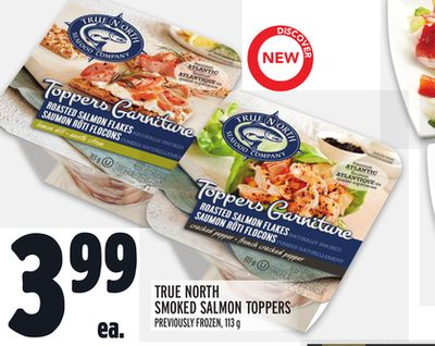 True North Smoked Salmon Toppers