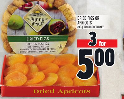 Dried Figs Or Apricots