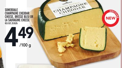 Somerdale Champagne Cheddar Cheese - Bresse Bleu Or La Sauvagine Cheese