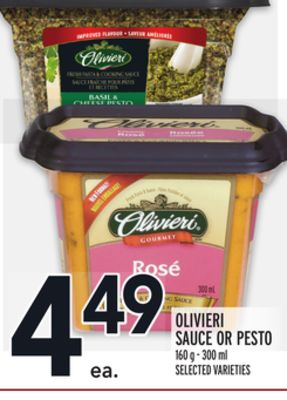Olivieri Sauce Or Pesto