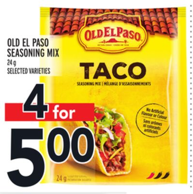 Old El Paso Seasoning Mix