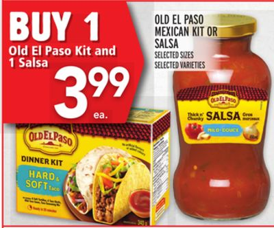 Old El Paso Mexican Kit Or Salsa