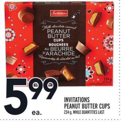 Invitations Peanut Butter Cups