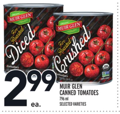 Muir Glen Canned Tomatoes