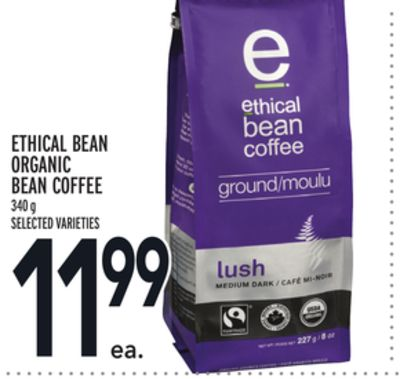 Ethical Bean Organic Bean Coffee