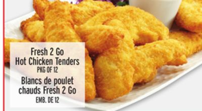 Fresh 2 Go Hot Chicken Tenders