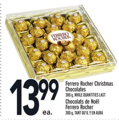 Ferrero Rocher Christmas Chocolates