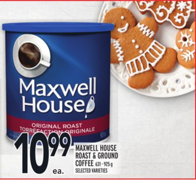 Maxwell House Roast & Ground Coffee