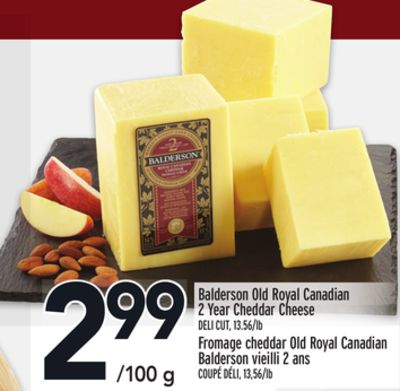 Balderson Old Royal Canadian 2 Year Cheddar Cheese
