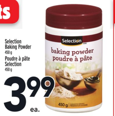 Selection Baking Powder
