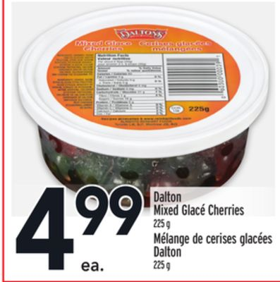 Dalton Mixed Glacé Cherries