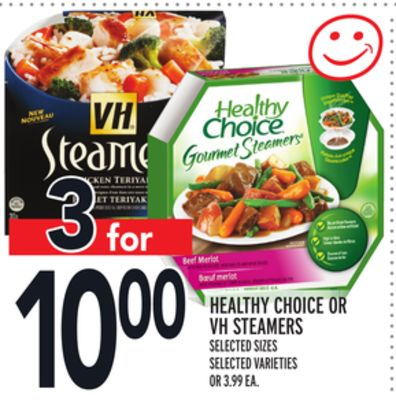 Healthy Choice Or VH Steamers