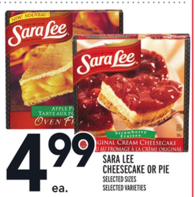 Sara Lee Cheesecake Or Pie